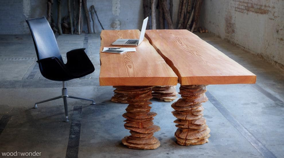 Work desk, conference table, live edge, long table, slab table ...